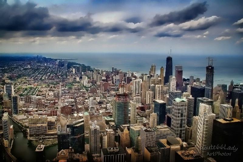 Chicago Storm - ID: 13600507 © JudyAnn Rector