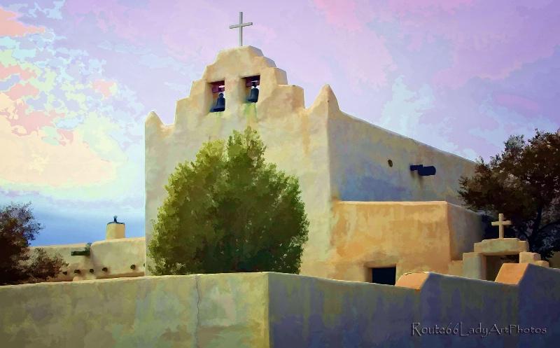 Laguna Pueblo Church - ID: 13604205 © JudyAnn Rector