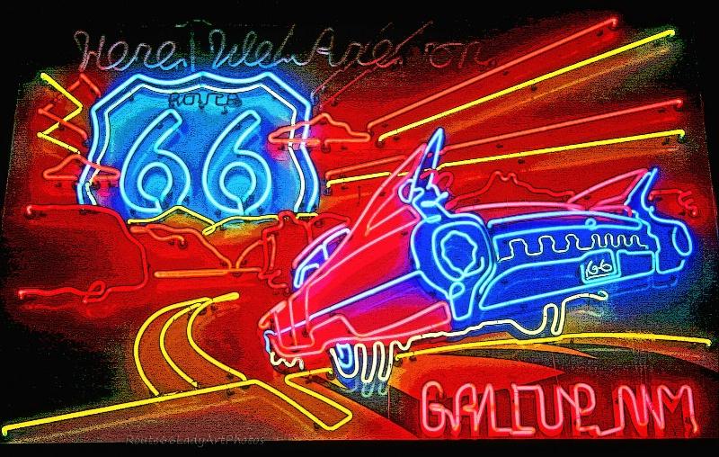Neon Artistry - ID: 13604215 © JudyAnn Rector