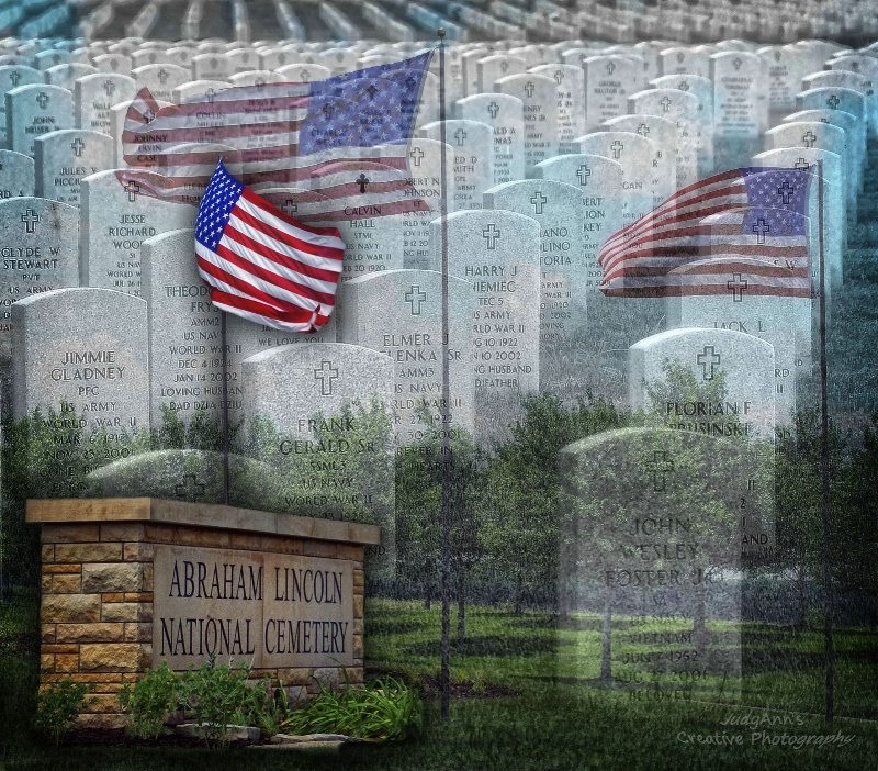 Abraham Lincoln National Cemetary - ID: 13611452 © JudyAnn Rector