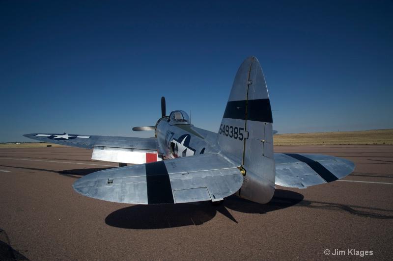 P-47D Thunderbolt - ID: 13641102 © Jim Klages