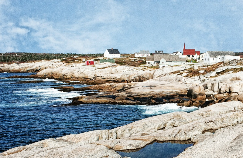 On the Rocks of Peggy's Cove