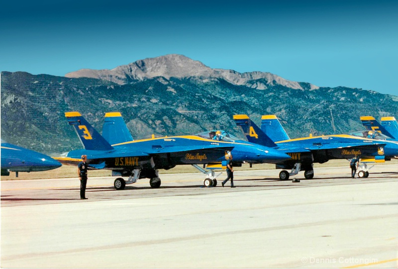 blue angels 05 - ID: 13677541 © Dennis K. Cottongim