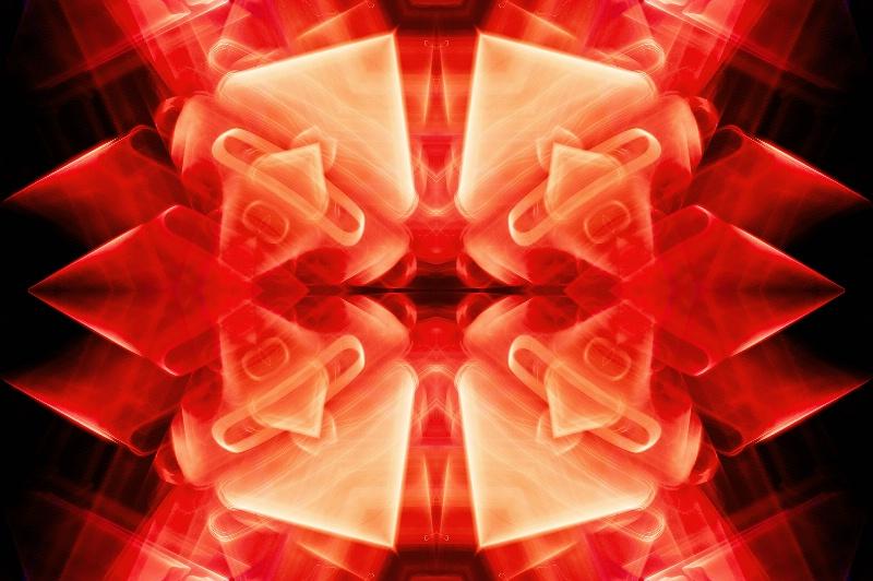 Seattle Light Abstract--Kaleidoscope #2 - ID: 13679990 © Don Johnson