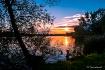 Lake Sztum sunset