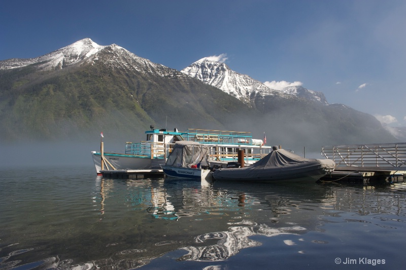 Lake McDonald Boat Dock - ID: 13711659 © Jim Klages