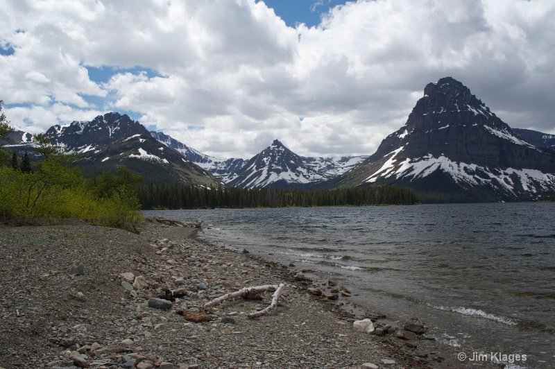 Two Medicine Lake - ID: 13711661 © Jim Klages
