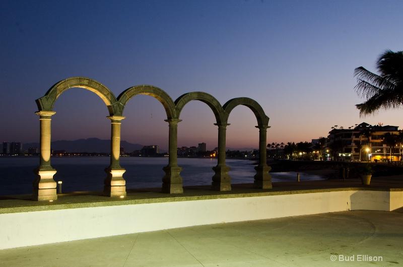 Los Arcos At Dawn