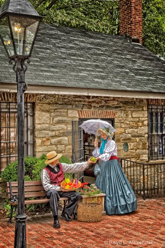 Ye Olde Street Vendor