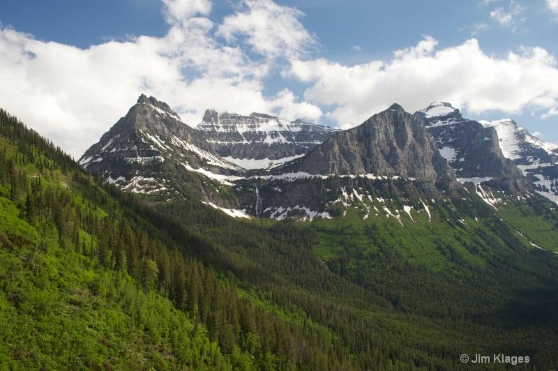 Logan Pass - west side - ID: 13770834 © Jim Klages