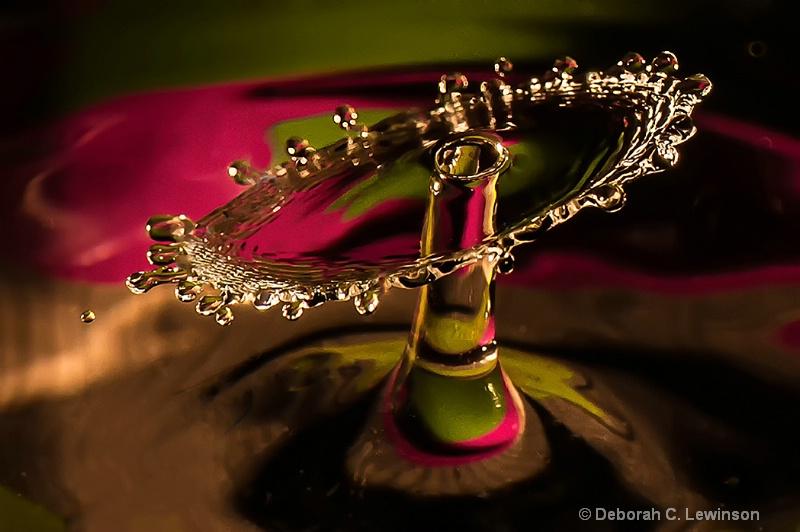 High Speed Water Drops _Shield - ID: 13773943 © Deborah C. Lewinson