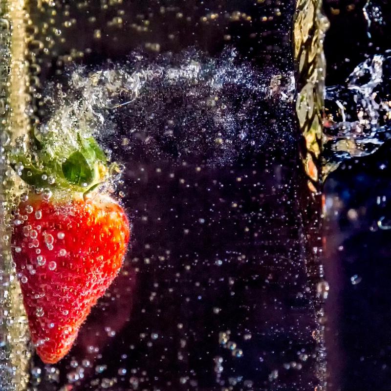 Strawberry Splash - ID: 13781348 © Karen Celella