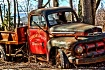 Rusted old Ford
