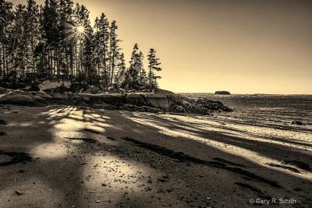 Sand Beach, Stonington, Maine