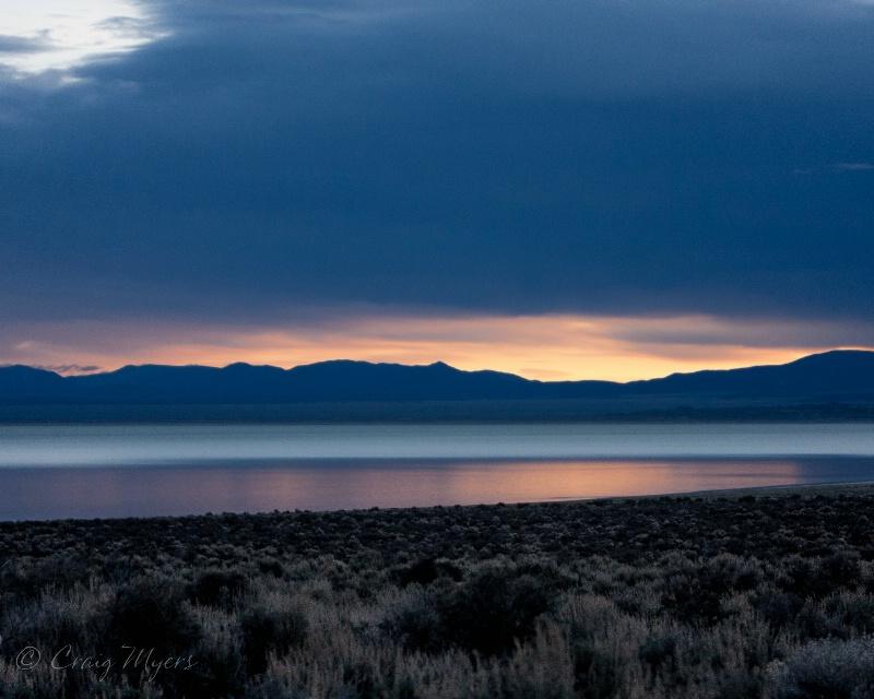 Pre-dawn Glow-Mono Lake - ID: 13793916 © Craig W. Myers