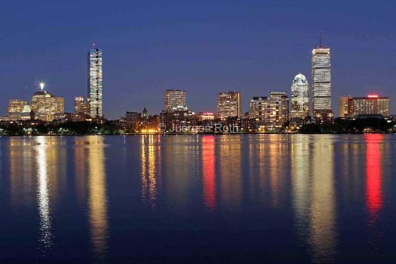 Boston Skyscrapers - ID: 13801977 © Juergen Roth