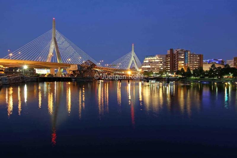 Zakim Bridge in Boston - ID: 13801979 © Juergen Roth