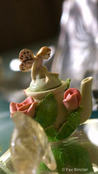 Teapot Fairy  - ID: 13817846 © Fax Sinclair