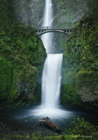 Multnomah Falls,Oregon
