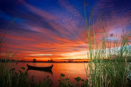 Taung Thaman Sun Set