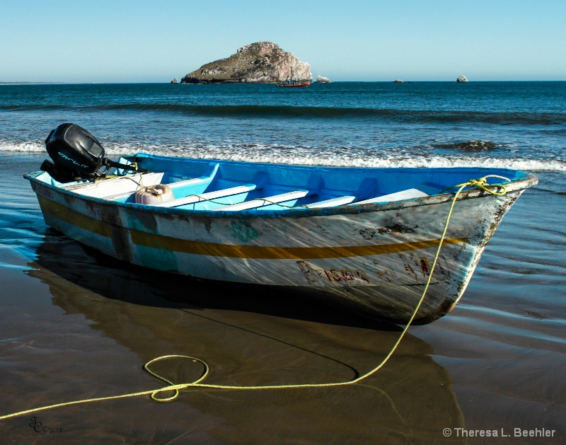 Boat with Character - ID: 13837915 © Theresa Beehler