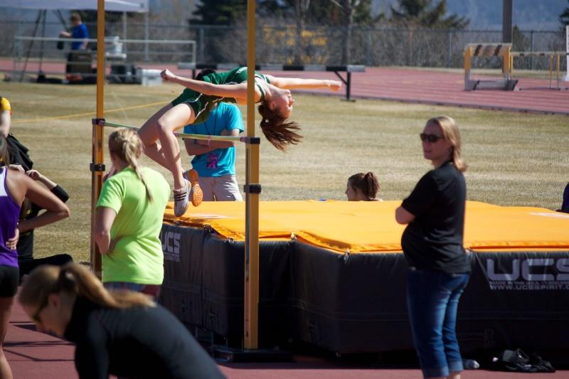 Jenna High Jump - ID: 13858629 © Sheryl K. Larson