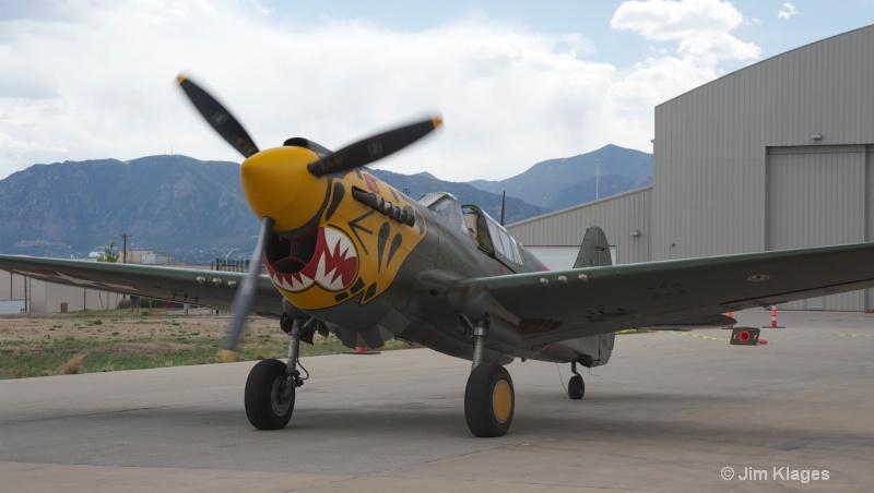 P-40K Warhawk - ID: 13899517 © Jim Klages