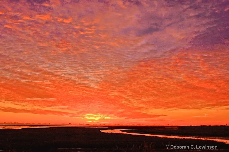 Glorious Sunrise - ID: 13946098 © Deborah C. Lewinson