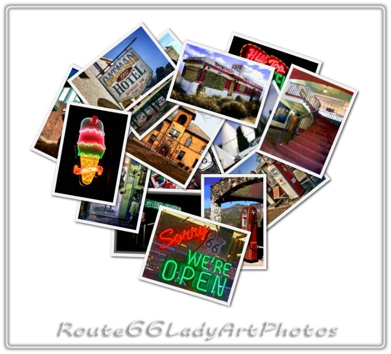 I Love Route 66! - ID: 13953887 © JudyAnn Rector