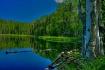 Boulder mtn. lake...