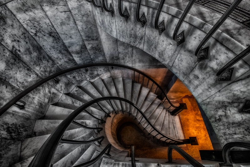 Light at the End of the Stairs - ID: 14001051 © Bill Currier
