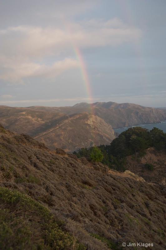 Rainbow Over Muir Beach - ID: 14056857 © Jim Klages