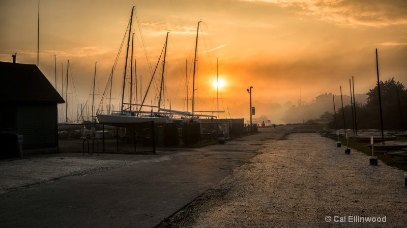 Road to the Boat Yard