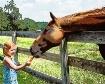Girl Loves Horse ...