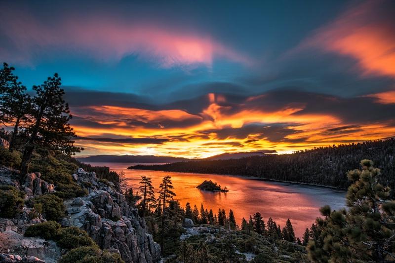 Sunrise - Emerald Bay, Lake Tahoe - ID: 14178600 © Bill Currier