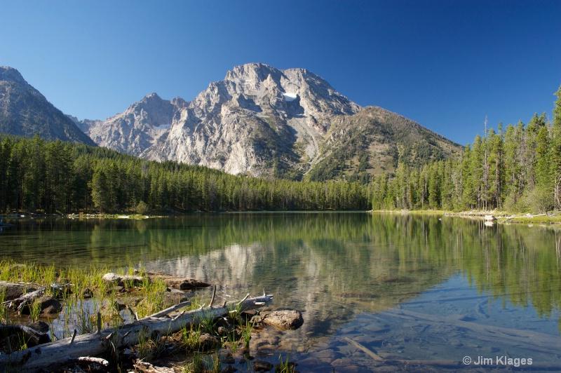 Leigh Lake and Mount Moran - ID: 14191506 © Jim Klages