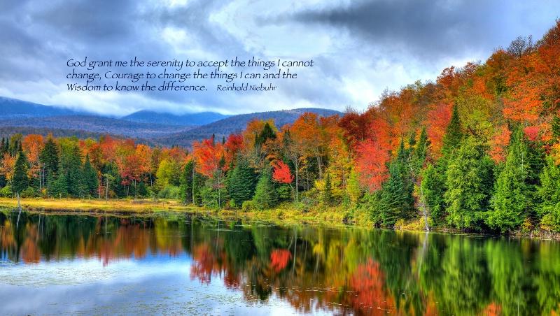 Belvedere Pond / The Serenity Prayer - ID: 14264523 © Leland N. Saunders