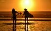 Friends Go Surfin...