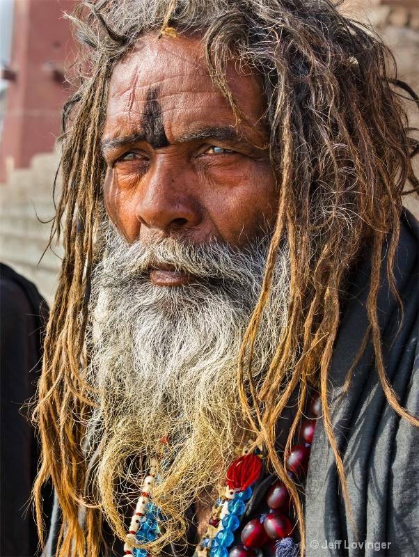 Baba Black, Varanassi, India   - ID: 14271268 © Jeff Lovinger