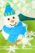 Frosty cupcake