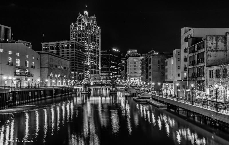 A Milwaukee View -- B&W - ID: 14305109 © John D. Roach