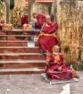 Budhist Monks At ...