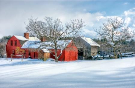 Freeman Farmhouse Winter