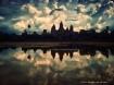 Sunset at Angkor ...