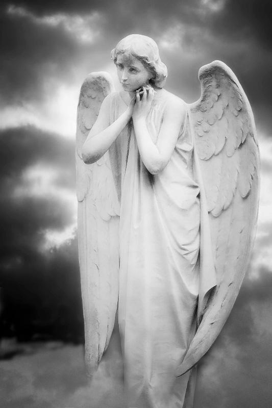 Hopeful Angel - ID: 14336332 © Olga Zamora