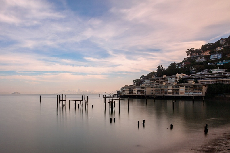 Sausalito's Busted Pier