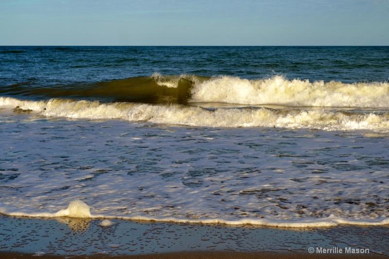 Atlantic ocean at Vero Beach, Fl.  - ID: 14346642 © Merrille Mason
