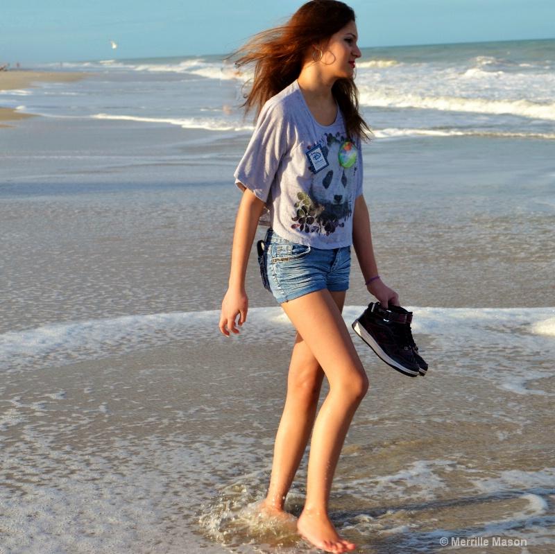 Harley on Vero Beach 2 - ID: 14346658 © Merrille Mason