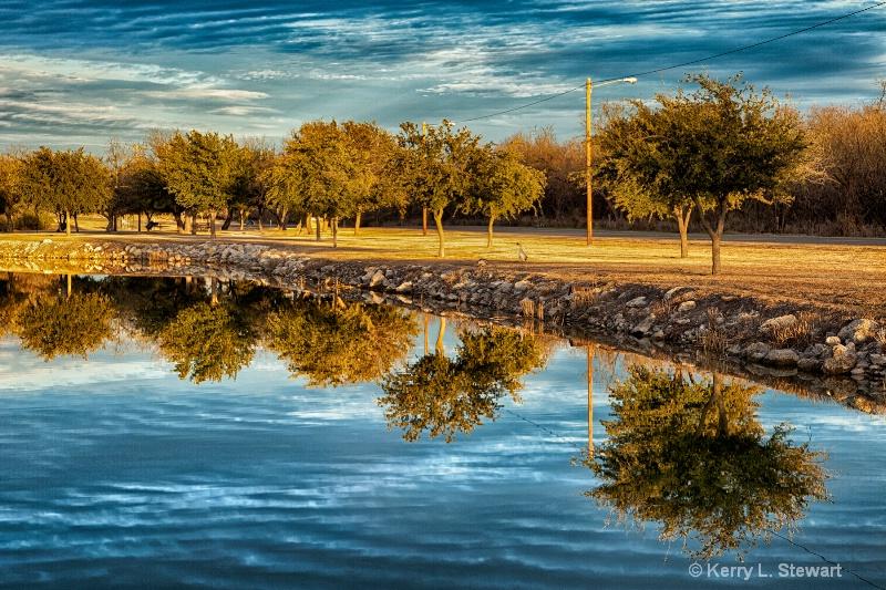 Lake Reflections - ID: 14369071 © Kerry L. Stewart