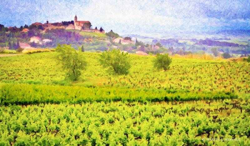 Ode to Cezanne - Carainne, France - ID: 14381250 © Martin L. Heavner